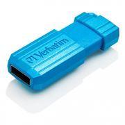 8Gb Verbatim PinStripe Caribbean Blue USB 2.0 (47398)