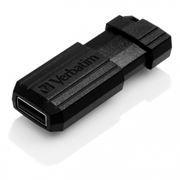 8Gb Verbatim PinStripe Black USB 2.0 (49062)