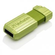 8Gb Verbatim PinStripe Eucalyptus Green USB 2.0 (47396)