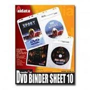 Конверт-файл на 2DVD и 2 буклета, с перфорацией, 10шт, Aidata (DV2BS-10)