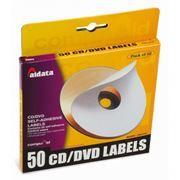 Наклейки на CD-DVD Aidata CDL50C, 50 шт.