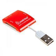 Карт-ридер внешний USB SmartBuy SBR-713-R Red