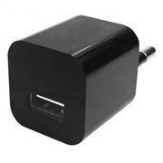 Зарядное устройство Oxion PC003, 220V->5V 1А USB, черное