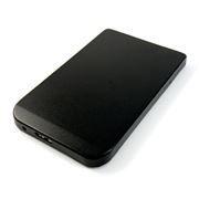 Внешний контейнер для 2.5 HDD S-ATA AgeStar 3UB201, алюминиевый, черный, USB 3.0