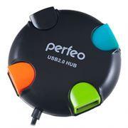 HUB 4-port Perfeo PF-VI-H020, черный