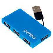HUB 4-port Perfeo PF-VI-H023, синий