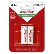 Аккумулятор AA SmartBuy HR6-2BL 2500мА/ч Ni-Mh, 2шт, блистер (SBBR-2A02BL2500)