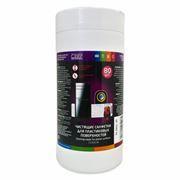 Салфетки влажные CBR для пластиковых поверхностей, в тубе 80шт (CS 0030-80)