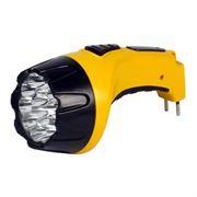 Фонарь SmartBuy, аккумуляторный, зарядка 220В, желтый, 15 LED (SBF-85-Y)