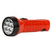 Фонарь SmartBuy, аккумуляторный, зарядка 220В, красный, 7 LED (SBF-95-R)
