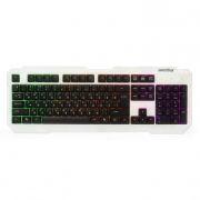 Клавиатура SmartBuy ONE 332 White/Black USB с подсветкой клавиш (SBK-332U-WK)