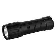 Фонарь Ultraflash 7102-TH, черный, пластик, 1LED, 3xAAA