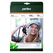 Бумага A4 PERFEO матовая 190 г/м, 50 листов (PF-MTA4-190/50) (M06)