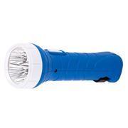Фонарь SmartBuy, аккумуляторный, зарядка 220В, синий, 5 LED (SBF-99-B)