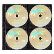 Конверт-файл на 8CD ЧЕРНЫЙ с перфорацией, 100шт