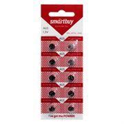 Батарейка SmartBuy AG5 393A/LR754/193 1.5V, 10 шт, блистер (SBBB-AG5-10B)