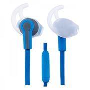 Гарнитура Perfeo Sport для мобильных устройств, сине-серая (PF-SPT-BLU/GRY)