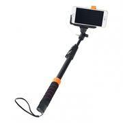 Монопод для селфи Perfeo M8 Selfie Stick, проводной, 40-122 см, адаптер Go-Pro, черный (PASSM8BK)