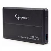 Внешний контейнер для 2.5 HDD S-ATA Gembird EE2-U3S-2, чёрный, USB 3.0