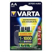 Аккумулятор AA VARTA 2700мА/ч Ni-Mh, 2шт, блистер (5706301402)