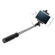 Монопод для селфи Perfeo M3 Selfie Stick, проводной, 14-60 см, черный (PASSM3BK)