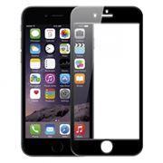 Защитное стекло для экрана iPhone 6/6S Black, 3D Gorilla, глянцевое, Perfeo (0042)