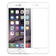 Защитное стекло для экрана iPhone 6/6S White, 3D Gorilla, глянцевое, Perfeo (0040)