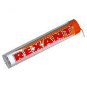 Припой с канифолью 10 гр.d=1.0 мм (Sn60 Pb40 Flux 2.2%), в колбе, Rexant (09-3101)