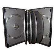 BOX 10 DVD черный (коробочка на 10 DVD)