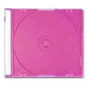BOX 1 CD Slim Case, красный (коробочка на 1 CD Slim)