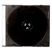 BOX 1 CD Slim Case, черный (коробочка на 1 CD Slim)