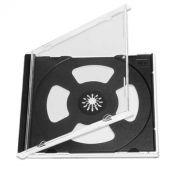 BOX 1 CD Jewel Case, черный, облегченный трей