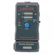 Тестер кабеля Cablexpert NCT-2  для UTP/STP/RJ11/RJ12/USB