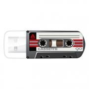 16Gb Verbatim Mini Cassette Edition Black USB 2.0 (49397)
