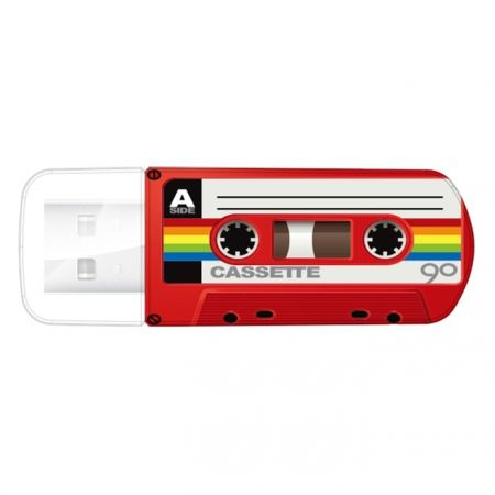 16Gb Verbatim Mini Cassette Edition Red USB 2.0 (49398)...