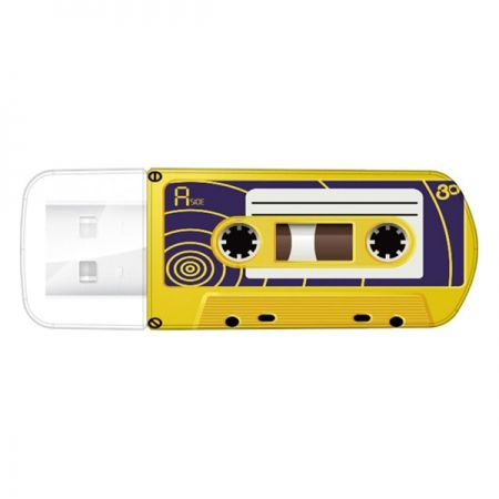 16Gb Verbatim Mini Cassette Edition Yellow USB 2.0 (493...