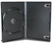 BOX 1 DVD 14mm, черный, матовая пленка