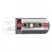 32Gb Verbatim Mini Cassette Edition Black USB 2.0 (49391)