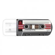 32Gb Verbatim Mini Cassette Edition Black USB 2.0 (49391)
