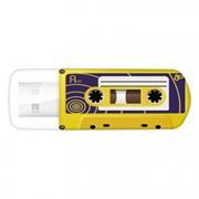 32Gb Verbatim Mini Cassette Edition Yellow USB 2.0 (49393)