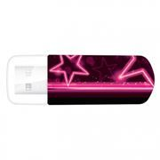 32Gb Verbatim Mini Neon Edition Pink USB 2.0 (49390)
