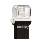 8Gb SmartBuy POKO Black OTG USB/microUSB, совместим с Android (SB8GBPO-K)