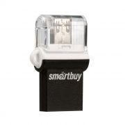 32Gb SmartBuy POKO Black OTG USB/microUSB, совместим с Android (SB32GBPO-K)