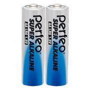 Батарейка AA Perfeo LR6/2SH Super Alkaline, 2шт, термопленка