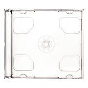 BOX 2 CD Jewel Case, прозрачный (коробочка на 2 CD)