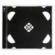 BOX 2 CD Jewel Case, черный (коробочка на 2 CD)
