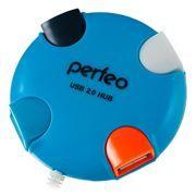 HUB 4-port Perfeo PF-VI-H020, синий