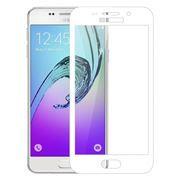 Защитное стекло для экрана Samsung Galaxy A3 White (16), Full Screen Cover, глянц, Perfeo (0036)