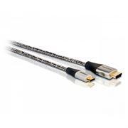 Кабель HDMI mini - HDMI 19M/19M, 1.5 м, позол. разъемы, армированный, Philips (SWV3472S/10)