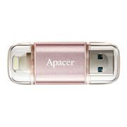 32Gb Apacer AH190 Mobile OTG Lightning/USB3.1 Rose Gold (AP32GAH190H-1)